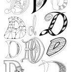 Zentangle Letters