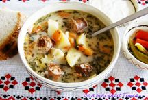 bucat. romaneasca-supe si ciorbe(soups). / by Roman Petru-gheorghe