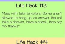 Life hacks / by Mitch Lowe