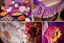 |LIBRARY| Tea Party / Tea Party ideas from Alice in Wonderland to Fancy Nancy.