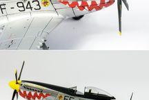 Aviones a escala