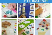 Printable Activities / Easy printable activities for preschool, pre-K and Kindergarten.
