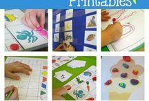 Pre-school Printables