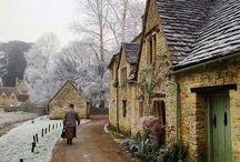 Angielskie domki
