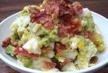 koolhydraatarme salades