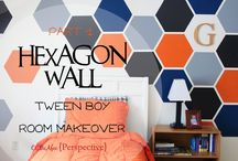 Feature Walls / A collection of inspirational ideas for that wall that you just want to make a bit more special as a stand out feature