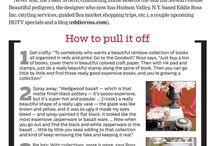 Design tricks and tips