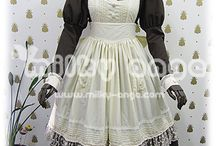 milky ange-Maid-Antique Style