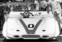 Retro racing porsche