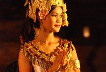 Apsara Dancers / Images of Apsara dancers in Siem Reap Cambodia