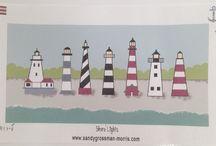 ♡ Coastal Light Houses ♡ / Guiding ships to a safe harbor...