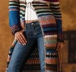 Crochet Coat Inspiration