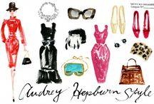 audrey / by allaboutvignettes.blogspot.com