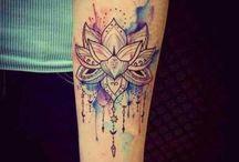 Lotus/mandala tattoo ideas