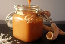 Cuisine - Desserts - Caramels Compotes Pâtes à tartiner Sauces sucrées coulis