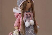 куклы снежки