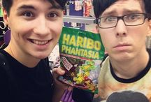 youtubers♡ / Most of it is ●Dan And Phil○