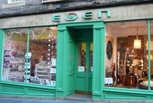Favourite Edinburgh Shops
