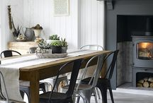 Dining in Style / When it comes to tables and chairs now anything goes, the more furniture doesn't match, the better!