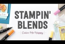 stampin blends stampin up