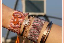 Japanse Miyuki Armbandjes / We ♡ de Japanse Armbandjes ! Wat een schattige armbandjes gemaakt van fijne Miyuki kraaltjes.Prachtige afwerking met kwastjes en pull-tie sluiting, geschikt voor iedere pols! www.armbandonlinekopen.nl