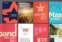 Brochure Inspiration / Corporate Brochure Styles