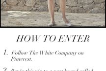 The White Company Competitions