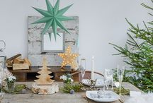 Scandi Christmas Table Decoration Sets by styleboxe