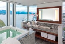 Bathrooms / What goes into a cool bathroom? Here are some ideas.