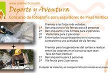 Promociones y ofertas / fotos de los carteles con ofertas, promociones y concursos de Pixel Vertical