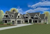 Building Inn the Country / Floor plans and blueprints for the perfect home and inn to be built in farm country.