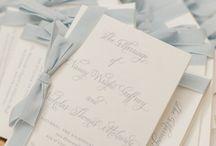 LPCo. Wedding Day Stationery / Custom Wedding Day Stationery + Calligraphy.