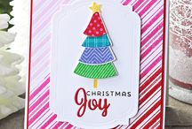SOA - Candy Cane Lane / Cards made with the Stamp of Approval Candy Cane Lane Collection.