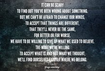 Grey's Anatomy Quotes / by Tori Peterson