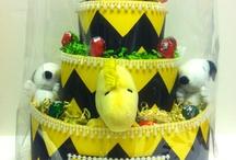 baby - diaper cake  / baby