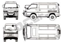 Delica L300 ideas and info...