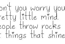 words of wisdom / by Courtney Kramer
