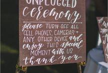 Ceremony Inspo