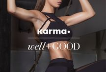 Karma Movement / Karma creates style-driven apparel, backed by technical functionality and social consciousness. Wear Karma for yoga, running, and fitness. Join the Karma Movement.
