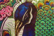 peacock / by Ellery Flynn
