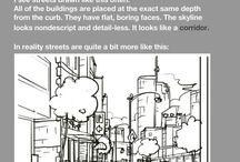 Drawing city