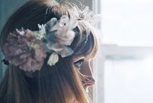 Crowns of flowers / Beautifu hair inspiration / by Luna and Willow