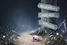 Games - main menu