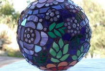 Stained Glass Mosaic Balls