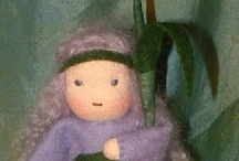 Waldorf Dolls / Waldorf dolls from around the world that inspire me. / by Mon Ange Dolls