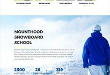 ski school website