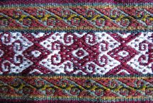 South American weaving / South American weaving has a long history and shows a wonderful vibrancy of colour.