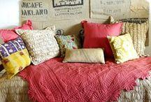 Pillows & design - interior