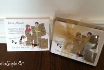 Welcome Home / Custom philoSophie's Moving Announcements and Housewarming Invitations. Designed especially for you.