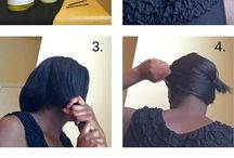 Relaxed hair tips